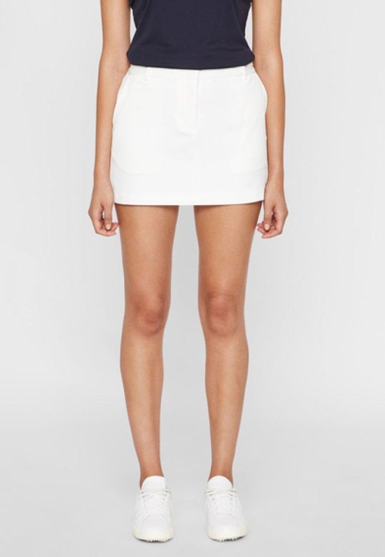 J.LINDEBERG - JUPE GABRIELA - A-line skirt - white