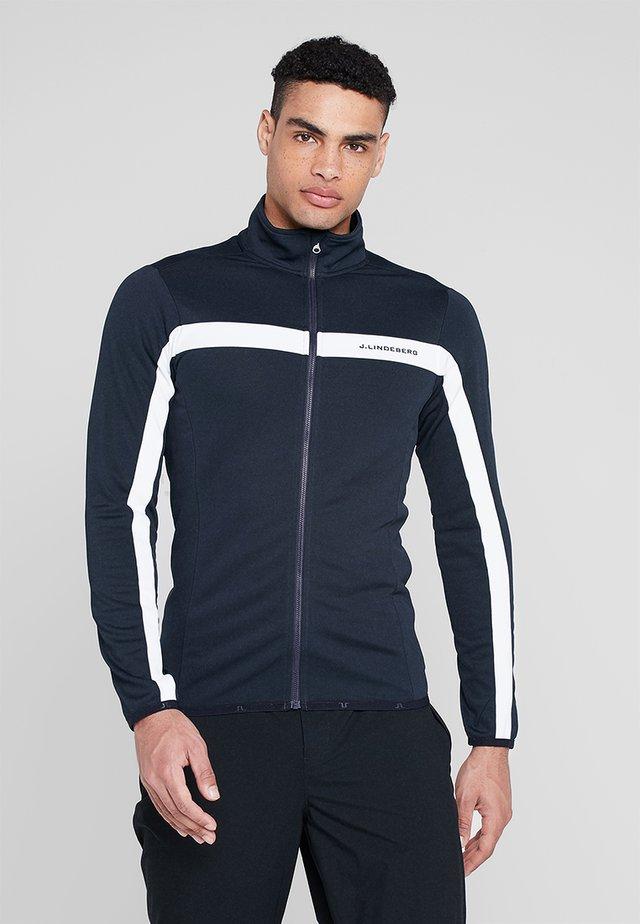 JARVIS JACKET BRUSHED FIELDSENSOR - Treningsjakke - navy