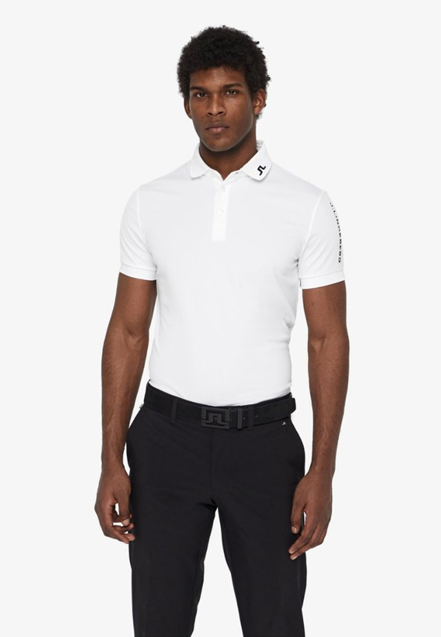 TOUR TECH SLIM - Sports shirt - white