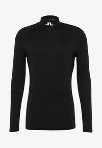 J.LINDEBERG - AELLO SOFT COMPRESSION - Langærmede T-shirts - black - 5