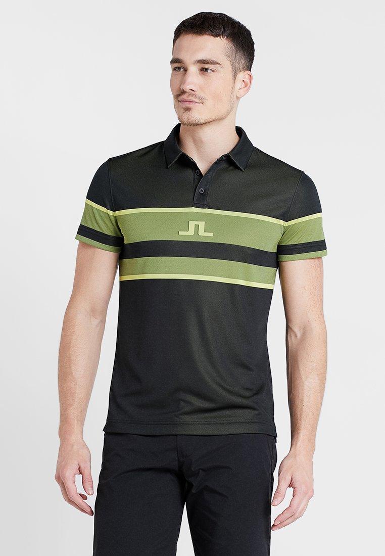 J.LINDEBERG - JAQUARD - Camiseta de deporte - olive