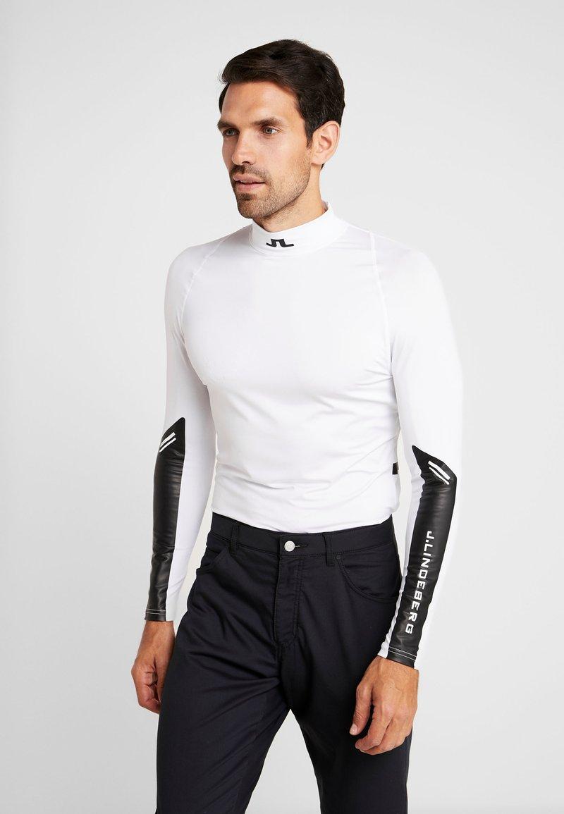 J.LINDEBERG - DAMIEN SOFT COMPRESSION - Camiseta de deporte - white