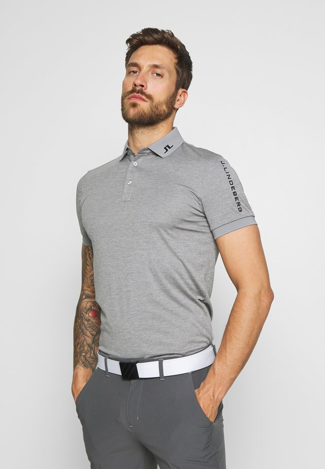 TOUR TECH - Sportshirt - stone grey melange
