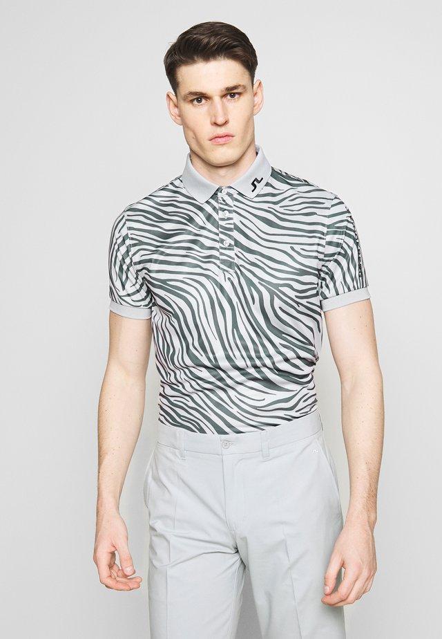TOUR TECH PRINT SLIM FIT - T-shirt de sport - grey
