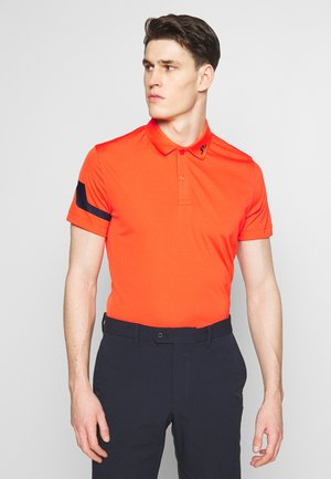 HEATH REG FIT TX JERSEY - Funkční triko - tomato red