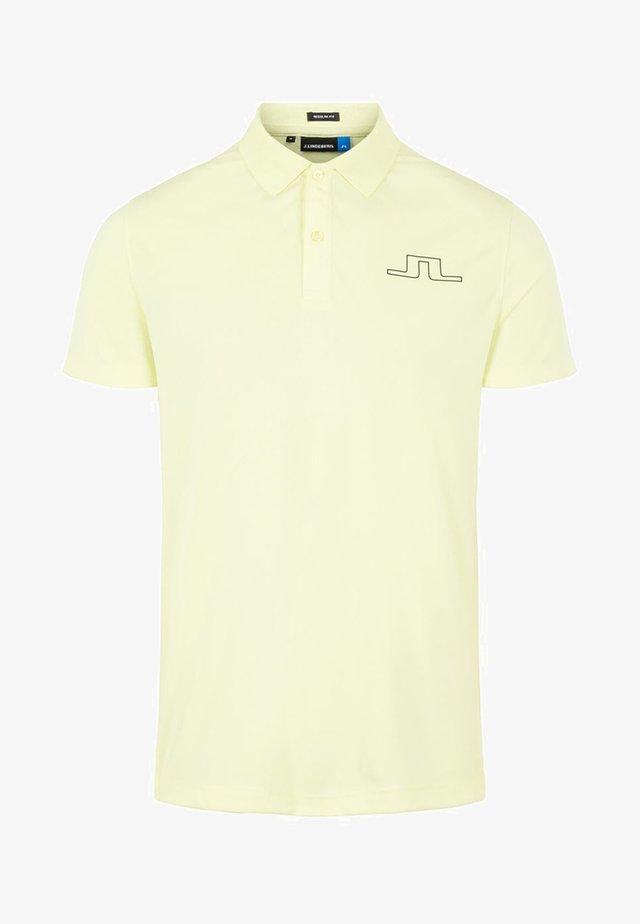 ALAN - Polo shirt - still yellow