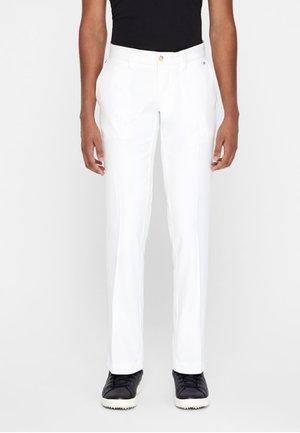 ELLOTT MICRO - Trousers - white