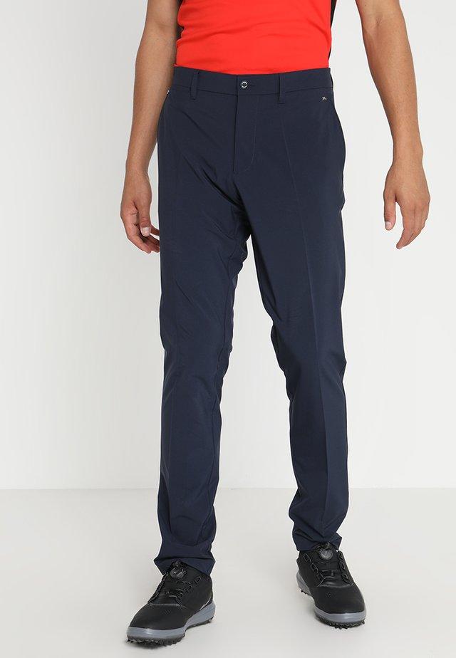 ELLOTT MICRO - Spodnie materiałowe - navy