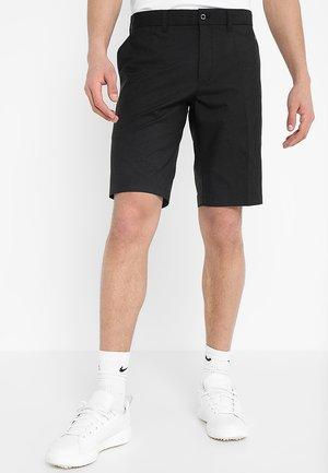 SOMLE TAPERED LIGHT POLY - Pantalones montañeros cortos - black