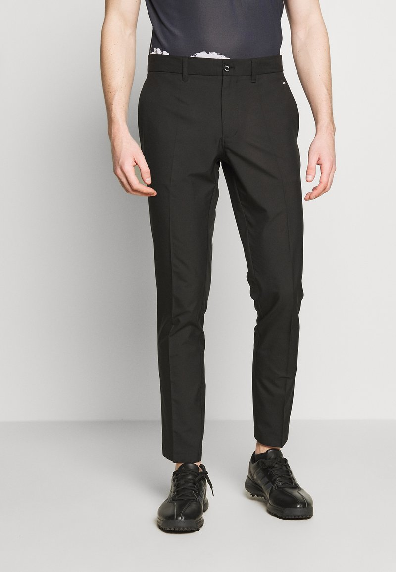 J.LINDEBERG - ELOF TIGHT FIT LIGHT POLY - Outdoor trousers - black