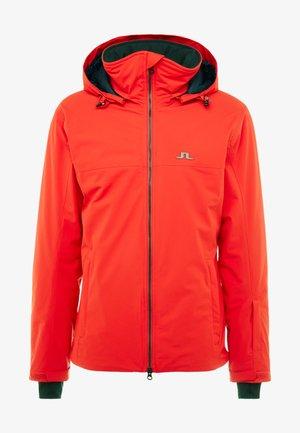 TRUULI - Veste de ski - racing red