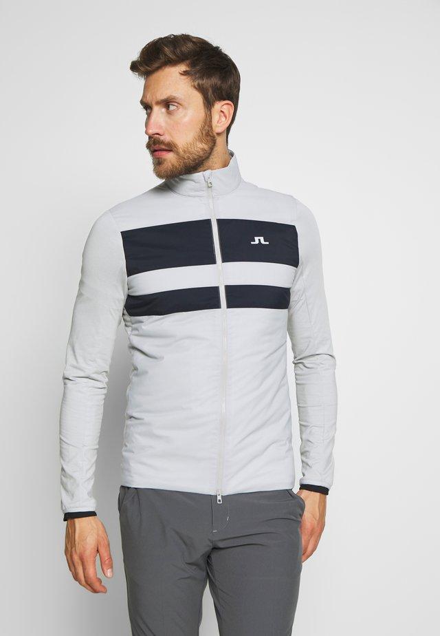 PACKLIGHT HYBRID JKT-LIGHT MID - Training jacket - stone grey
