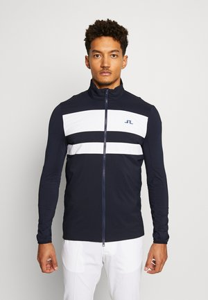 PACKLIGHT HYBRID JKT-LIGHT MID - Training jacket - navy