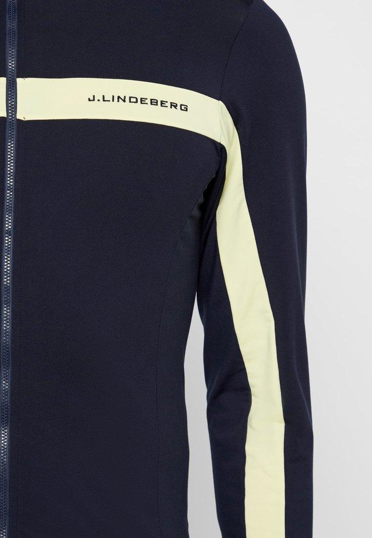 J.lindeberg Seasonal Jarvis Light Mid - Fleecejacka Still Yellow