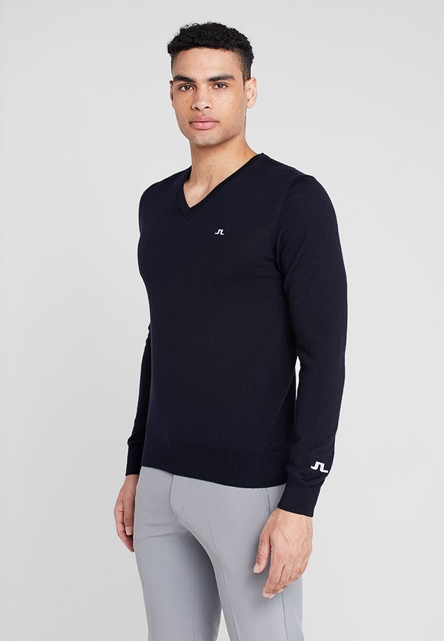 LYMANN TOUR - Jumper - navy