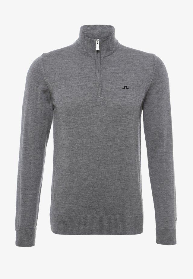 KIAN TOUR - Stickad tröja - grey melange