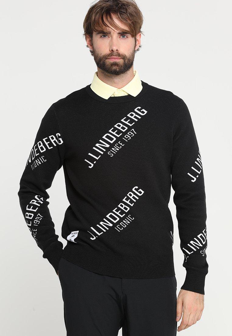 J.LINDEBERG - CASON - Jersey de punto - black