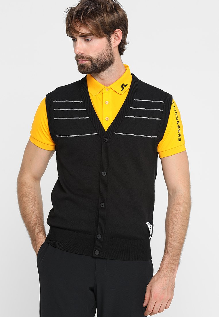 J.LINDEBERG - CESAR COOLMAX - Jersey de punto - black