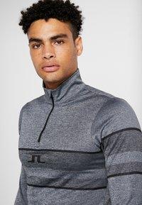 J.LINDEBERG - MASON - Long sleeved top - dark grey melange - 4