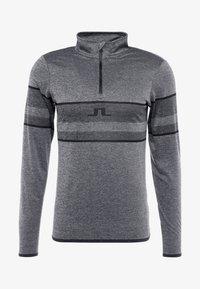 J.LINDEBERG - MASON - Long sleeved top - dark grey melange - 3