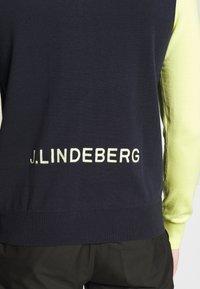J.LINDEBERG - LIAM ZIP - Pullover - navy - 5