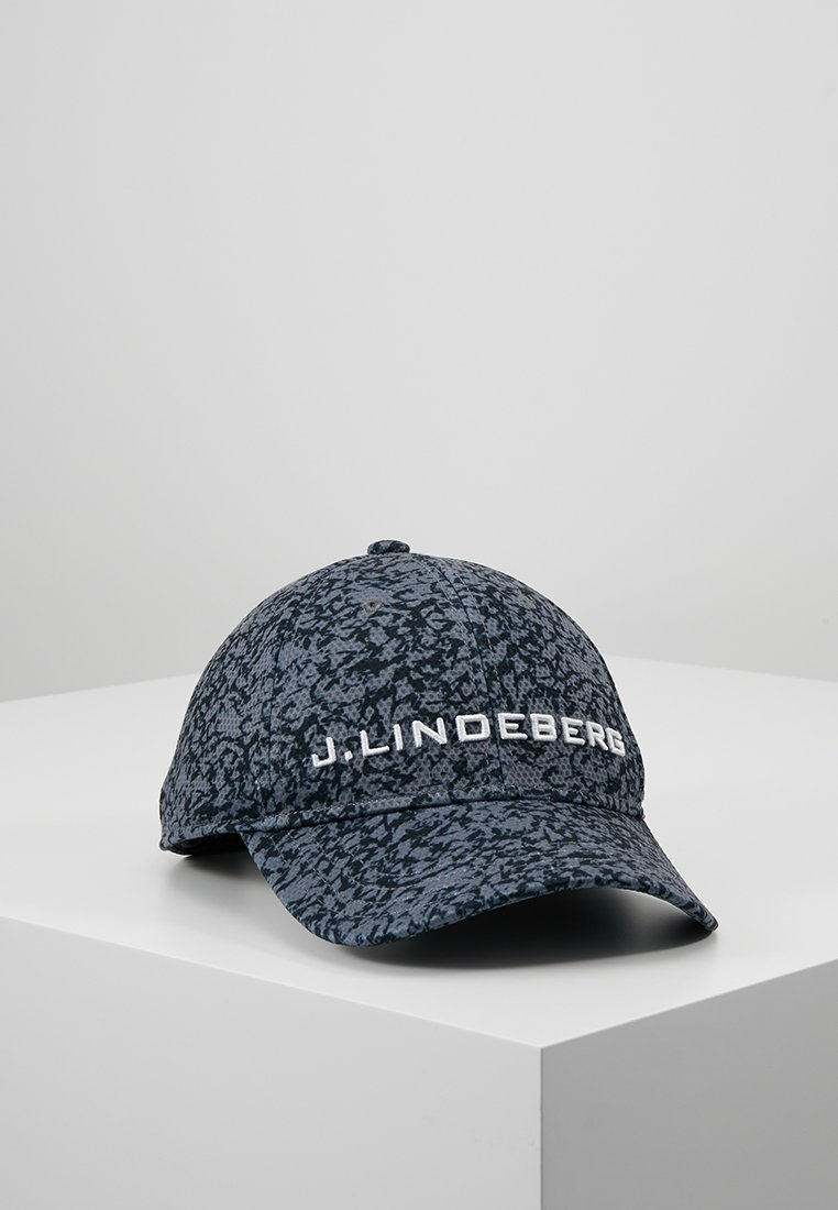 J.LINDEBERG - AIDEN PRO - Casquette - icelayers black/dark grey