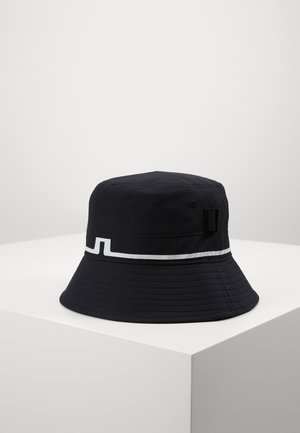 HANK BUCKET HAT-MICRO POLY - Hattu - black