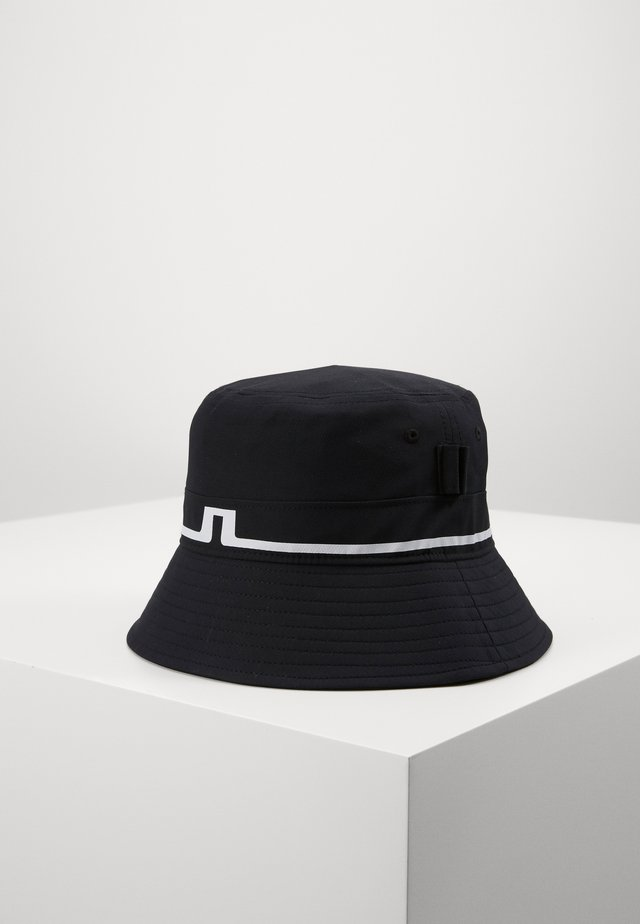 HANK BUCKET HAT-MICRO POLY - Klobouk - black