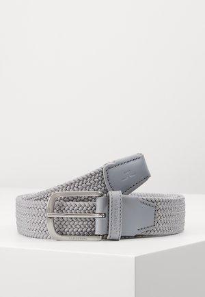 BERNHARD BELT-BRAIDED ELASTIC - Pásek - stone grey
