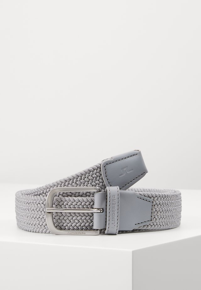 BERNHARD BELT-BRAIDED ELASTIC - Belte - stone grey