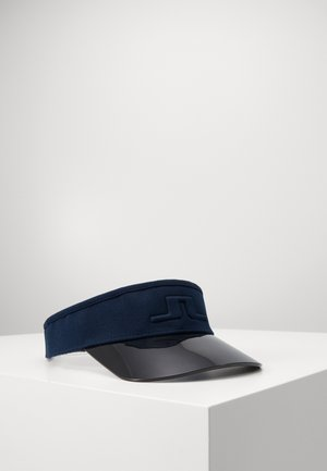 JOHNNY VISOR DOBBY - Cap - navy