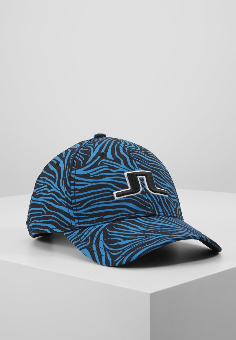 J.LINDEBERG - ANGUS PRINT TECH STRETCH - Kšiltovka - blue