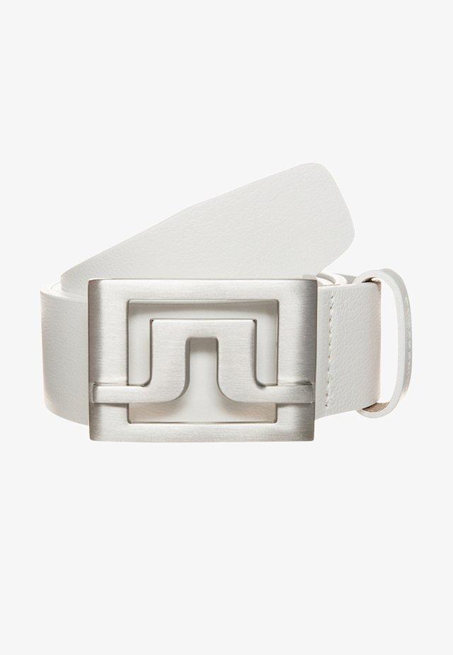 SLATER - Belt - white