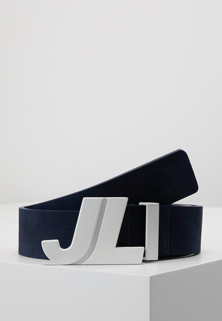 J.LINDEBERG - ICONIC BRUSHED - Belt - navy