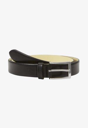 CONTRAST BELT - Formální pásek - black