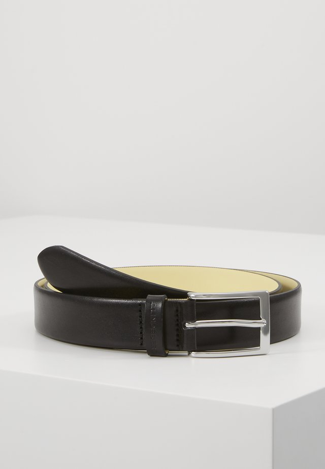 CONTRAST BELT - Vyö - black