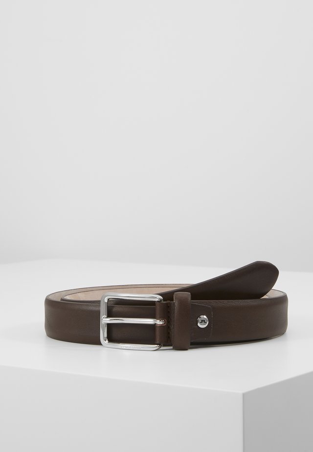 BYRON BELT - Vyö - dark brown