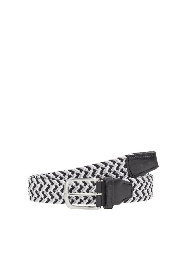 GÜRTEL BUBBA BRAIDED - Vyö - black