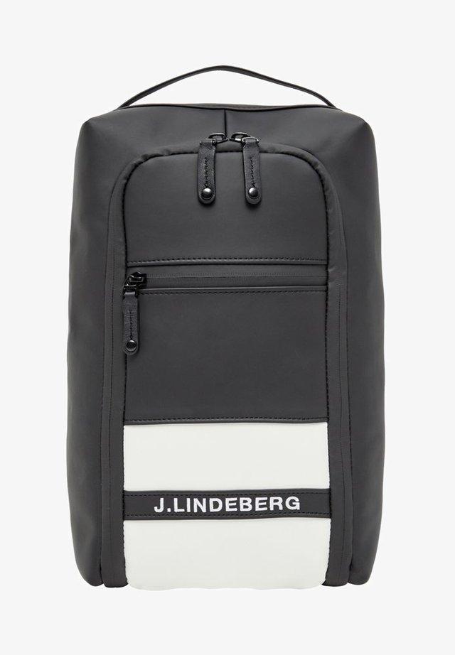 J.LINDEBERG TASCHE FOOTWEAR - Custodia per scarpe - black