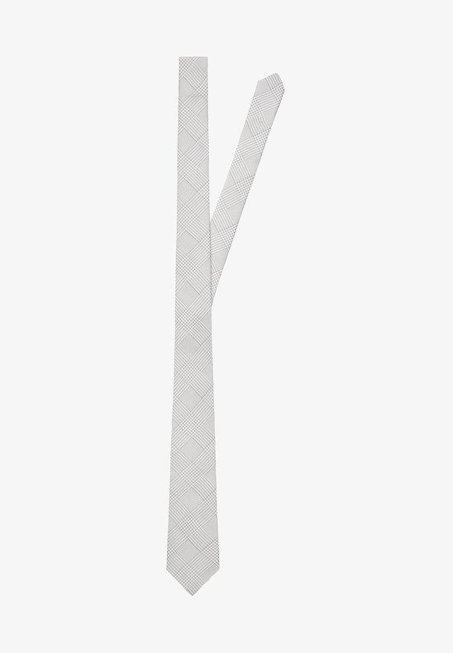 Krawat - stone grey