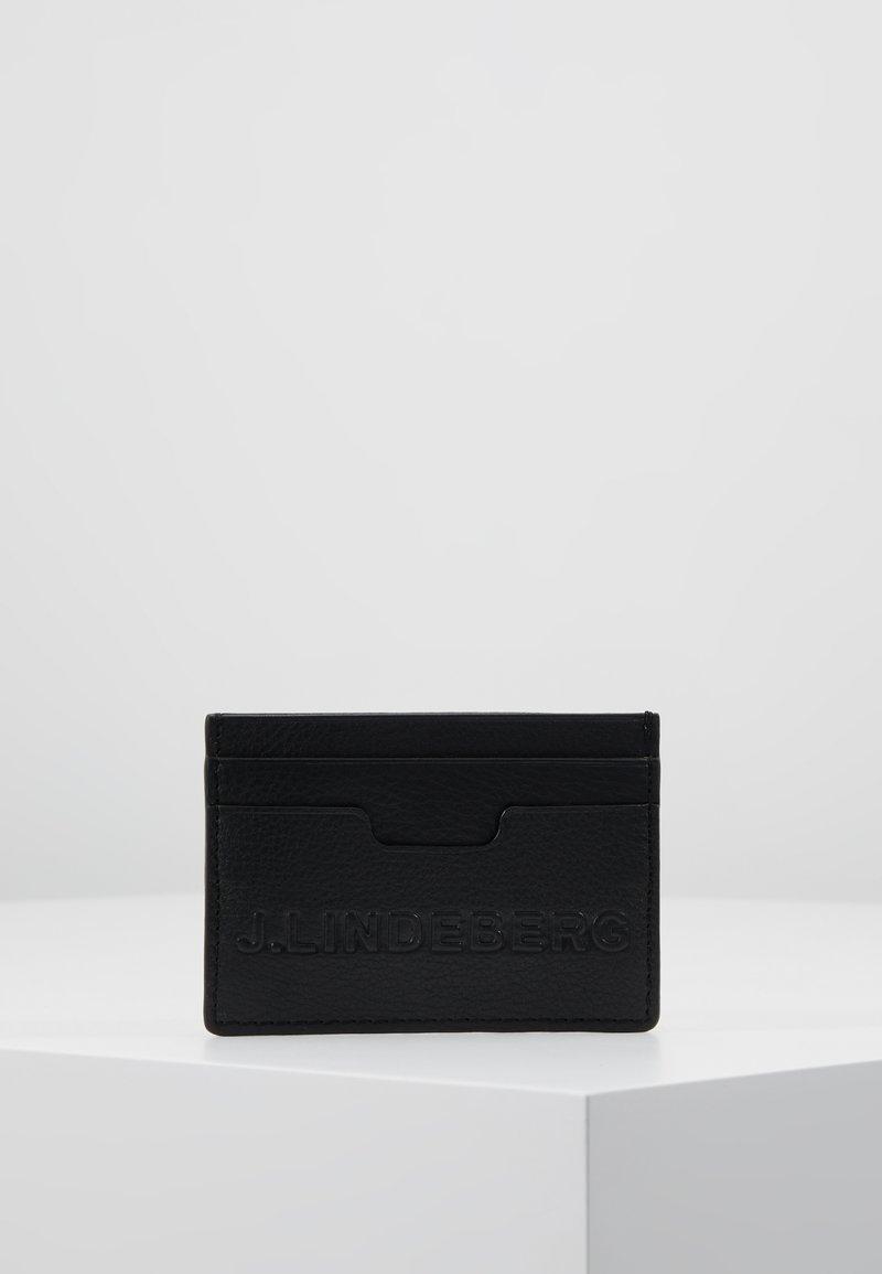J.LINDEBERG - ROGER CARDHOLDER - Peněženka - black