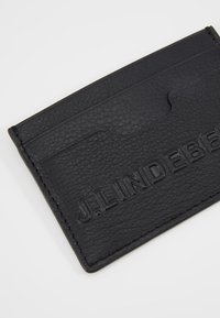 J.LINDEBERG - ROGER CARDHOLDER - Peněženka - black - 2