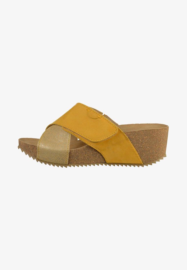 Josef Seibel - Muiltjes met hak - yellow