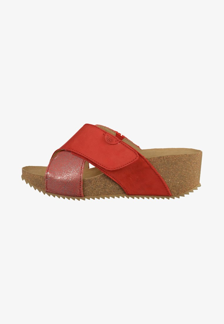Josef Seibel - Heeled mules - red