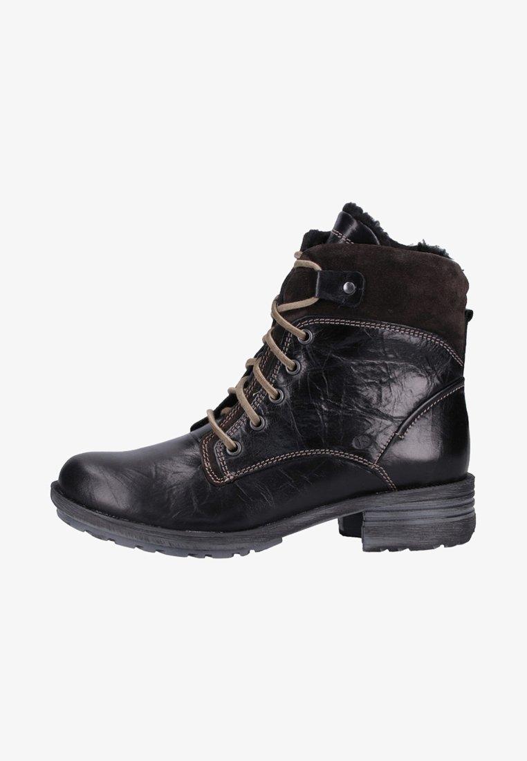 Josef Seibel - Lace-up ankle boots - black