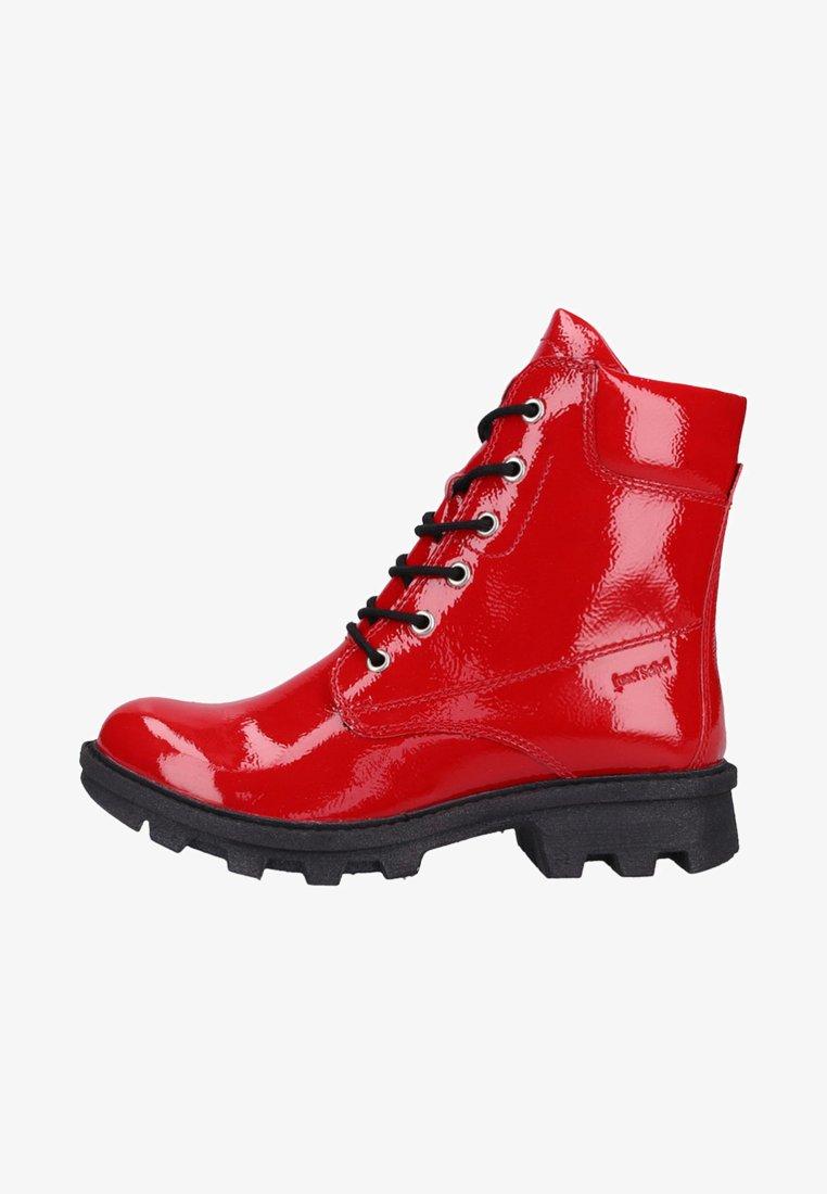 Josef Seibel - Platform ankle boots - red