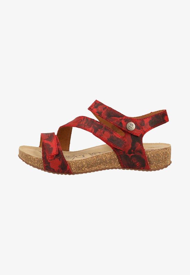 Sandales de randonnée - red