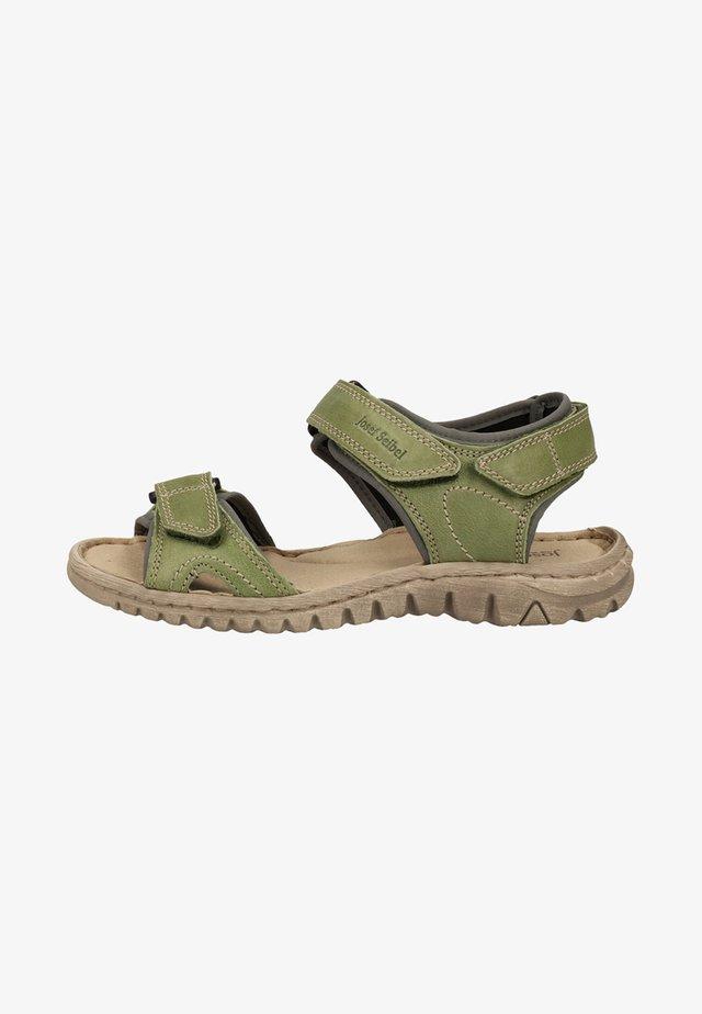 JOSEF SEIBEL SANDALEN - Sandales de randonnée - green