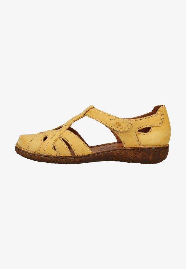 Walking sandals - yellow