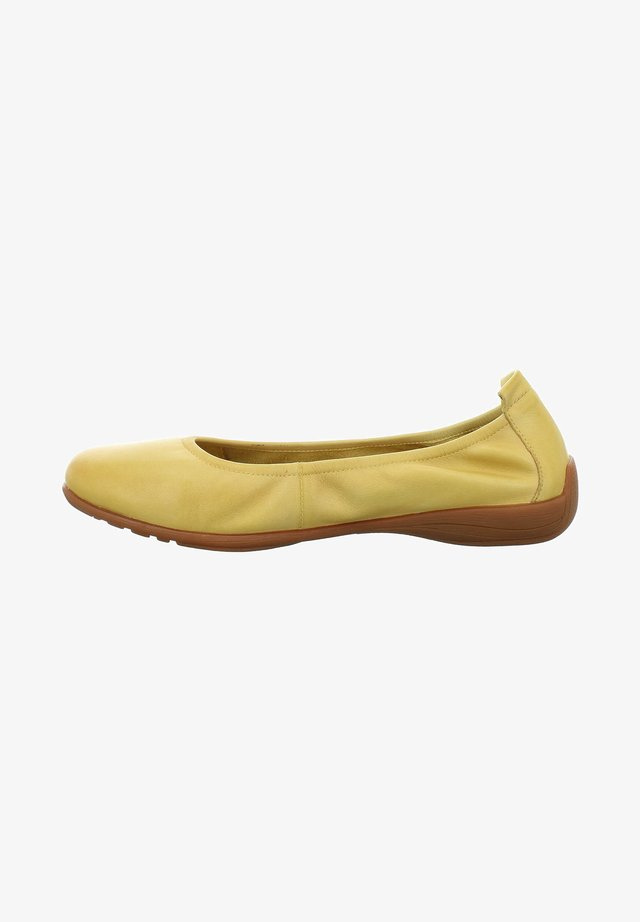 FENJA - Ballet pumps - yellow